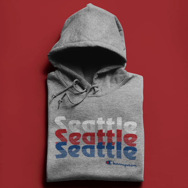 Champion Blaze Grey Seattle Hoodie