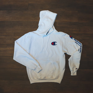 Hoodie - Champion Seattle Classic White Hoodie