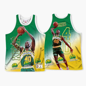 Jersey - AUTOGRAPHED By SHAWN KEMP - Behind The Back Tanktop