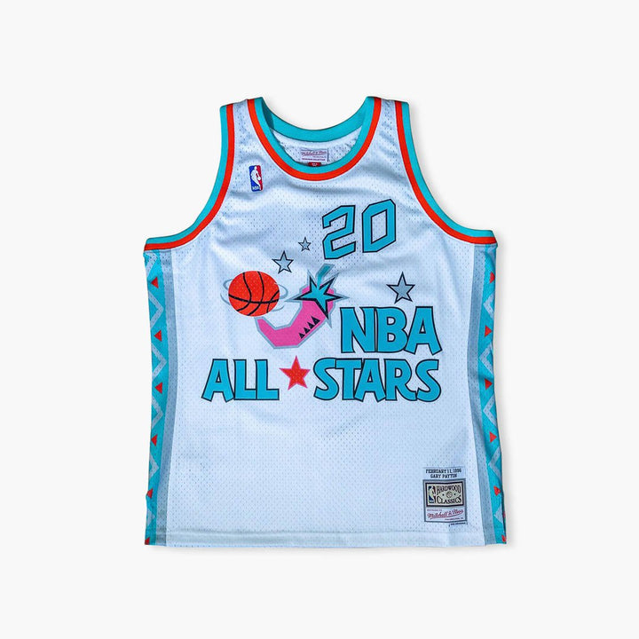 Jersey - Gary Payton 1996 All-Star Swingman Jersey By Mitchell & Ness