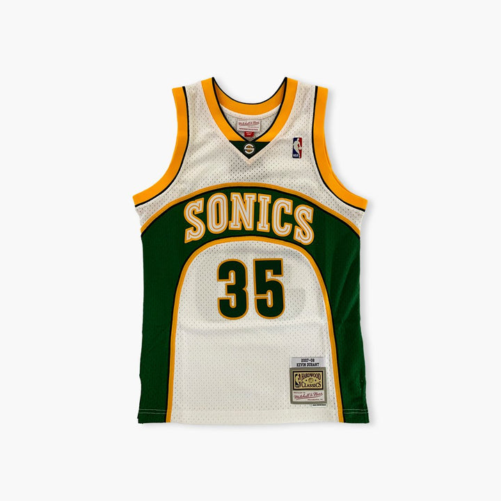 Jersey - Kevin Durant White Swingman Jersey Mitchell & Ness