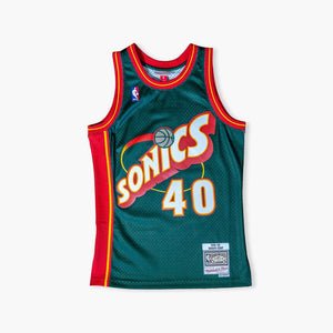 Jersey - Shawn Kemp 1996 Swingman Jersey By Mitchell & Ness