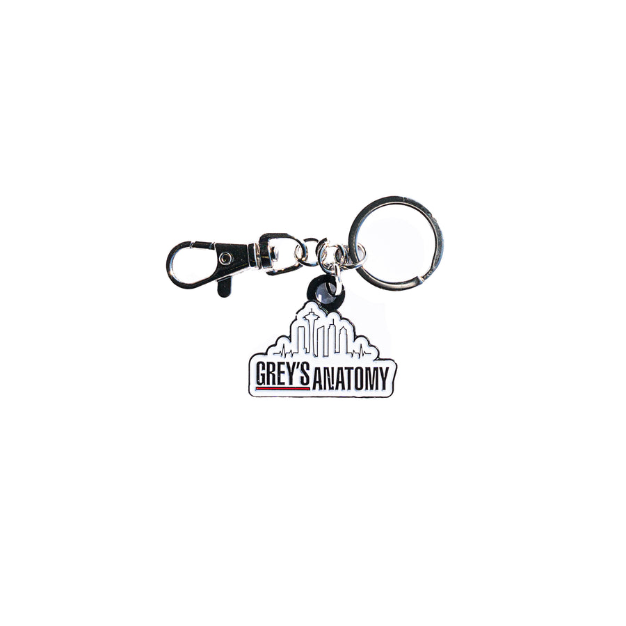 Pin - Grey's Anatomy Skyline Keychain