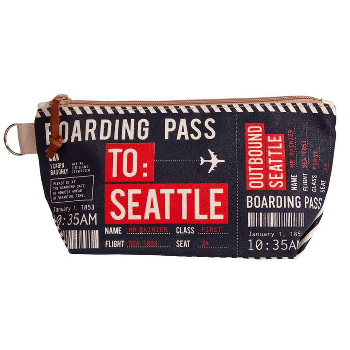 Pouch - Chalo Navy Seattle Boarding Pass Pouch