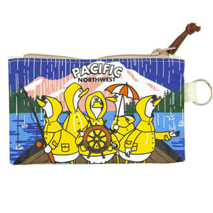 Pouch - Chalo PNW Fishing Ducks Mini Pouch