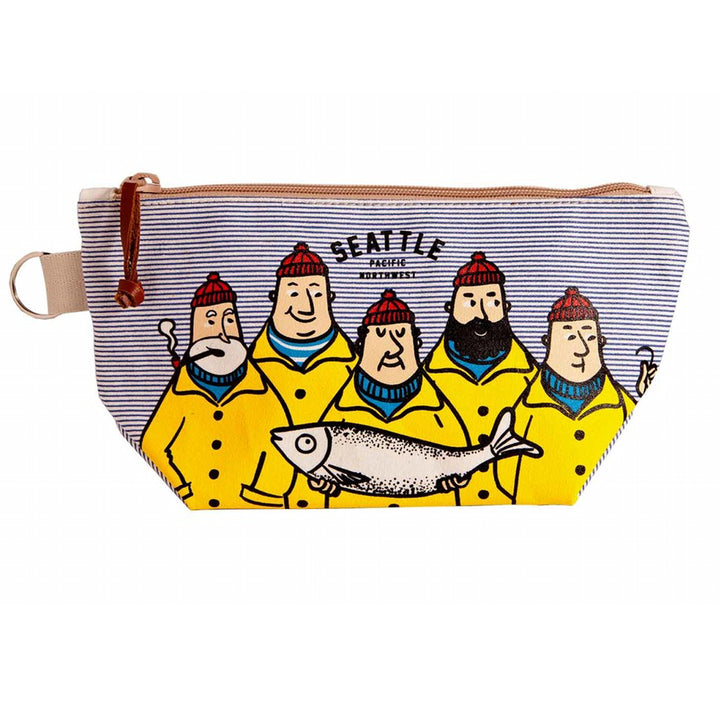 Pouch - Chalo Seattle Fishermen Horizontal Striped Pouch