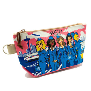 Pouch - Chalo Seattle Flight Attendant Pouch