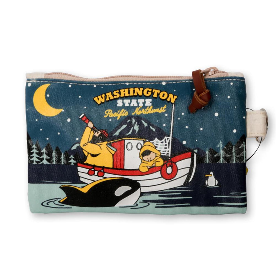 Pouch - Chalo Washington State Fishermen Mini Pouch