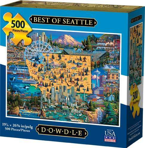 Puzzle - Best Of Seattle Jigsaw Puzzle