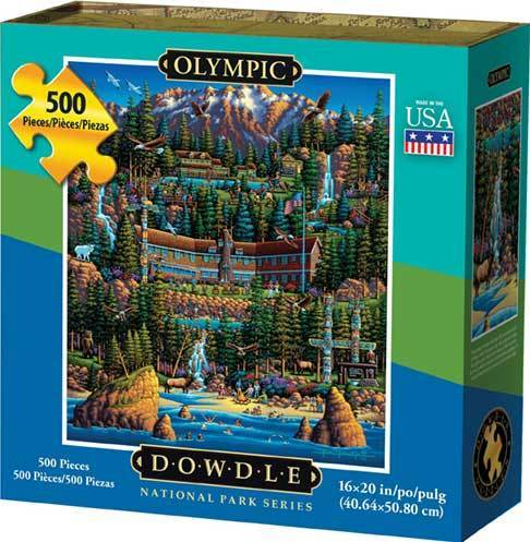Puzzle - Olympic National Park Jigsaw Puzzle