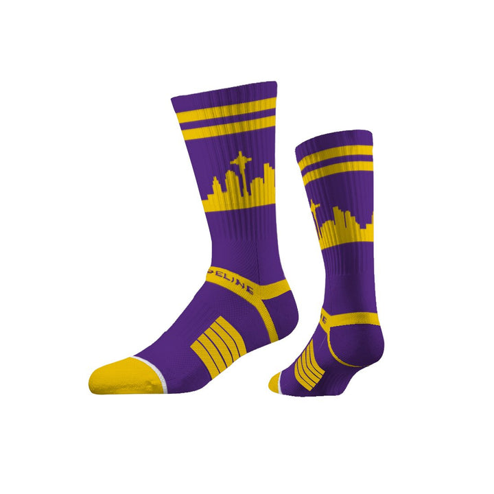 Socks - Seattle City Skyline Huskies Colorway Socks