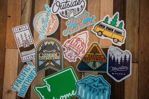 Sticker - Mixed Pacific Northwest Sticker Pack