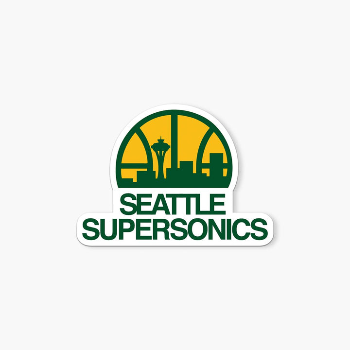 Sticker - Seattle Supersonics 1975-1995 Sticker