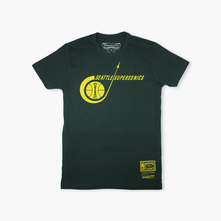 T-Shirt - Seattle SuperSonics Dark Green Rocket Ship Premium T-Shirt