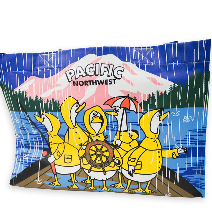 Tote - Chalo PNW Fishing Ducks Tote