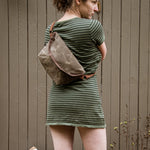 "Load image into Gallery viewer, ""LACEWING"" CROSSBODY BAG- Field tan"