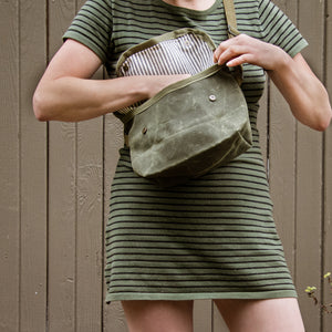 """LACEWING"" CROSSBODY BAG- Field tan"