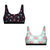 U-Back Bralettes - 2Pack