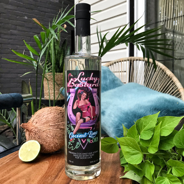 Lucky Bastard Coconut Lime Vodka