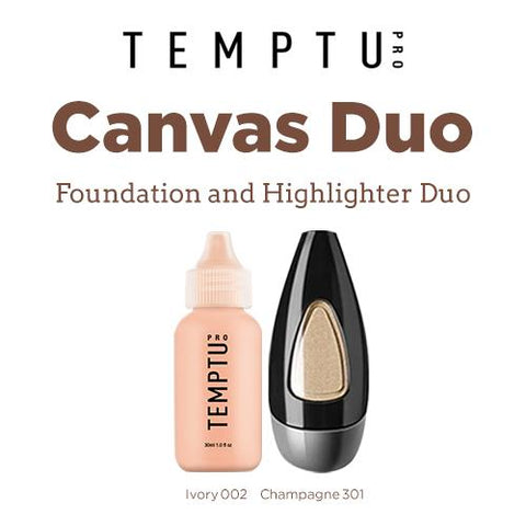 Temptu Foundation & Highlighter Duo