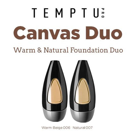 Temptu Warm & Natural Foundation Duo