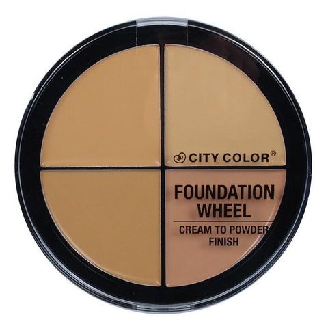 City Color Foundation Wheel (Medium)