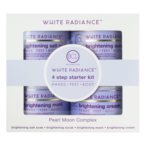 Spa Organics White Radiance Brightening 4 Step Starter Kit