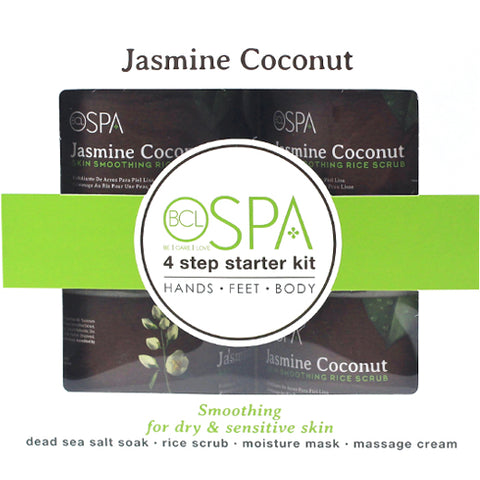 Spa Organics Jasmine Coconut 4 Step Starter Kit