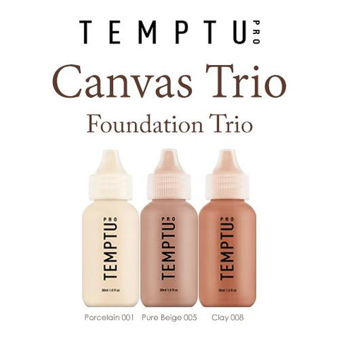 Temptu Canvas Foundation Trio