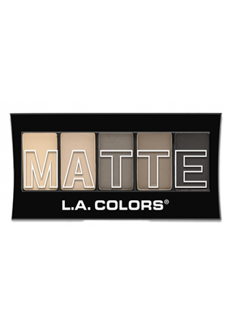 L.A. Colors Matte Eyeshadow Nude Suede