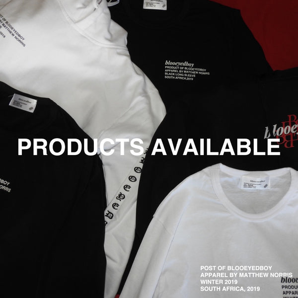 PRODUCTS ARE NOW AVAILABLE