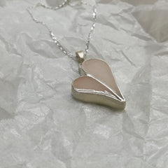 Thick heart pendant