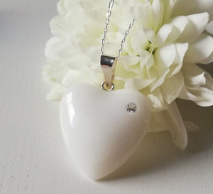 BM-jewelry™ Mother´s love pendant with Zirconia