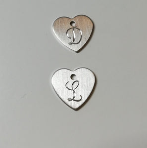 Engraving plate charms