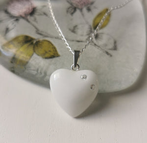 BM-jewelry™ Mother´s love pendant with Zirconia SMALL