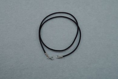 Leather cord, 2 mm