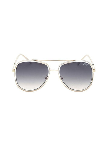 Quay Australia NEEDING FAME Clear Brown Aviator Designer Sunglasses Australian Online Store One Honey Boutique AfterPay ZipPay