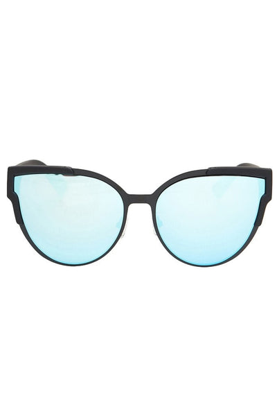 Quay Australia GAME ON Black Blue Designer Sunglasses