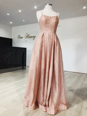 Tinaholy Couture T18262 Rose Pink Glitter Ball Gown Formal Dress {vendor} AfterPay Humm ZipPay LayBuy Sezzle