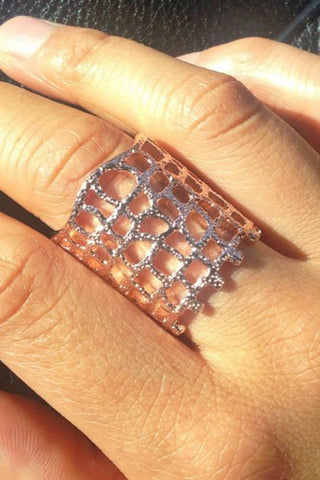 Bowie Accessories The Moment Ring in Rose Gold