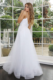 Tinaholy Couture Designer BA09A White 3D Lace & Tulle Wedding Formal Dress Tina Holly Couture$ AfterPay Humm ZipPay LayBuy Sezzle
