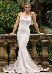 Tinaholy Couture Designer BA227 Stone Strapless Mermaid Formal Dress Tina Holly Couture$ AfterPay Humm ZipPay LayBuy Sezzle