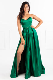 Honey Couture HELENA Strapless Custom Made Formal Dress {vendor} AfterPay Humm ZipPay LayBuy Sezzle