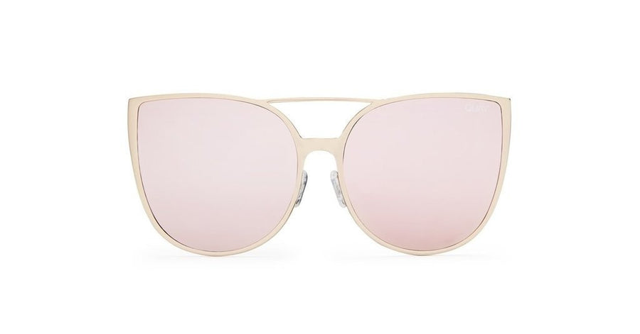 Quay Australia SORORITY PRINCESS Gold Pink Designer Sunglasses Australian Online Store One Honey Boutique AfterPay ZipPay