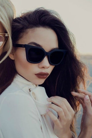 Quay Australia HARPER Black Smoke Designer Sunglasses Australian Online Store One Honey Boutique AfterPay ZipPay