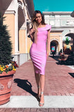 Honey Couture STEPHANIE Pink Strapless Frilly Tube Bandage Dress Honey Couture One Honey Boutique AfterPay ZipPay OxiPay Laybuy Sezzle Free Shipping