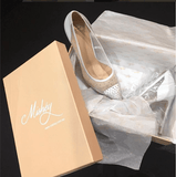 MISHEY Shoes Designer White BRIDAL Swarovski Crystal Pumps High HeelsMisheyOne Honey Boutique AfterPay OxiPay ZipPay