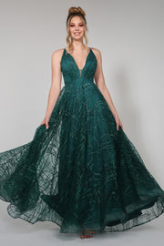 Tina Holly Couture Designer TW002 Emerald Green Sequin Formal Dress {vendor} AfterPay Humm ZipPay LayBuy Sezzle
