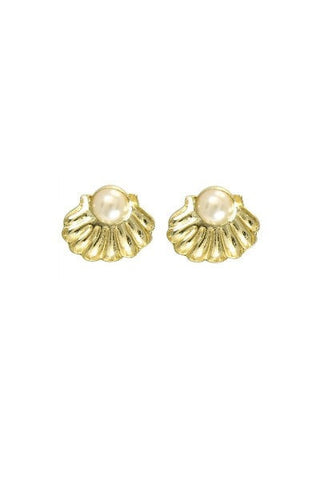 WILDFOX Couture Pearl Stud Earrings , Earrings WILDFOX Couture Jewellery, One Honey Boutique  Australian Online Store - 1