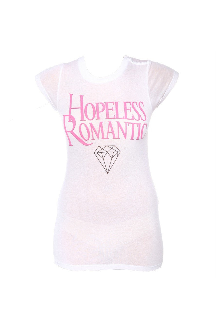 WILDFOX Couture Skinny Hopeless Romantic T Shirt , T Shirt WILDFOX Couture Clothing, One Honey Boutique  Australian Online Store - 1